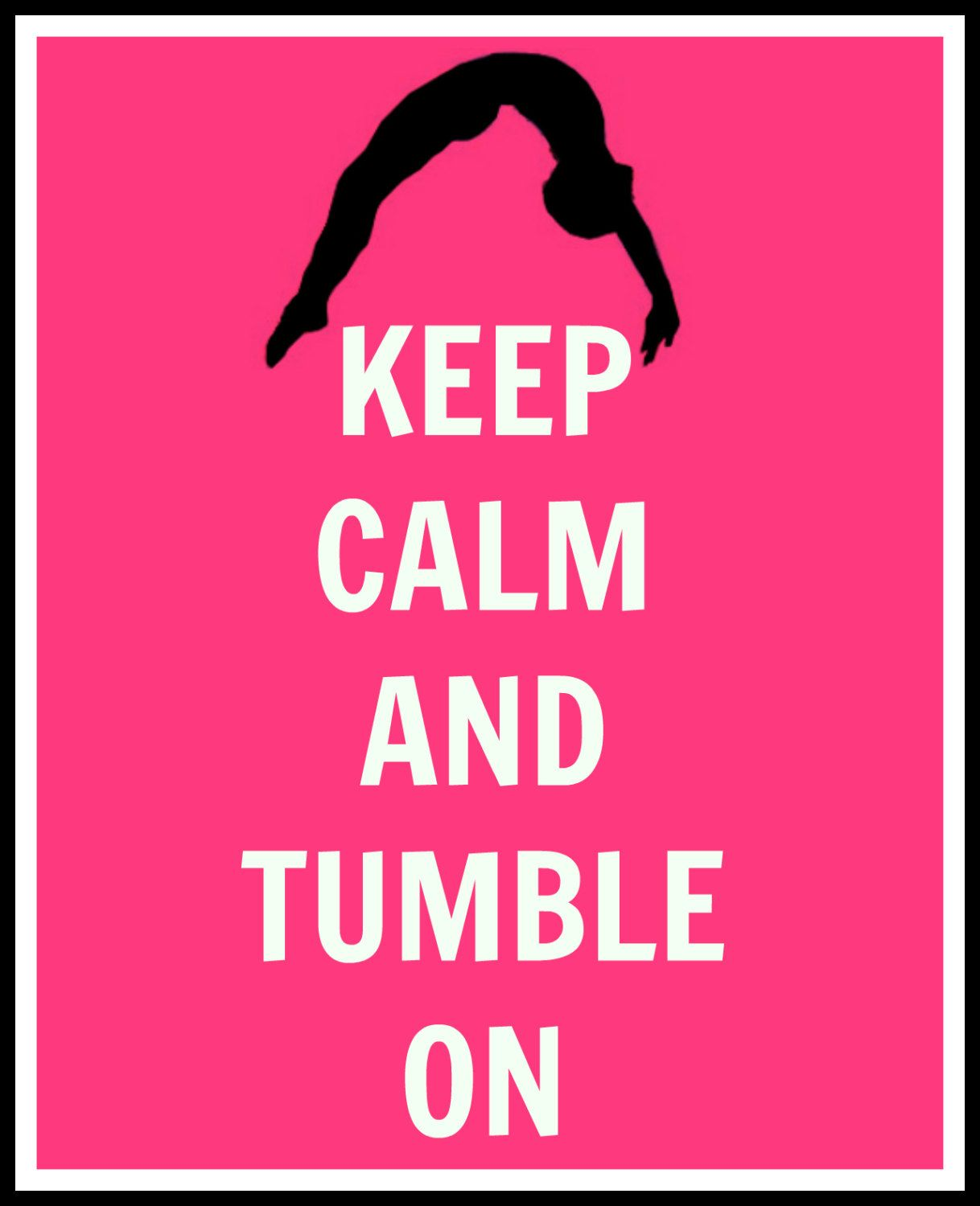 Uncategorized Gymnastics Pictures To Print keep calm and tumble on gymnastics digital print 5 99 via etsy etsy