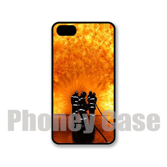 iphone 5 or 5s firefighters personalized cell phone by phoneycase   15 00