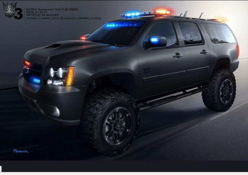 Transformer Suburbans Bing Images Police Truck Chevrolet