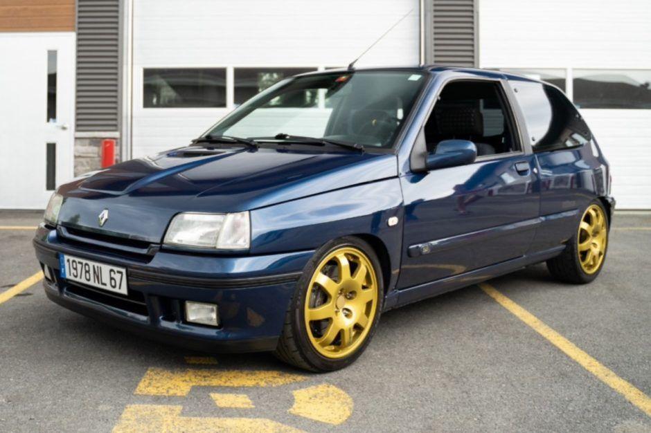 1995 Renault Clio Williams S2 Clio Williams Renault Clio Hot Hatch