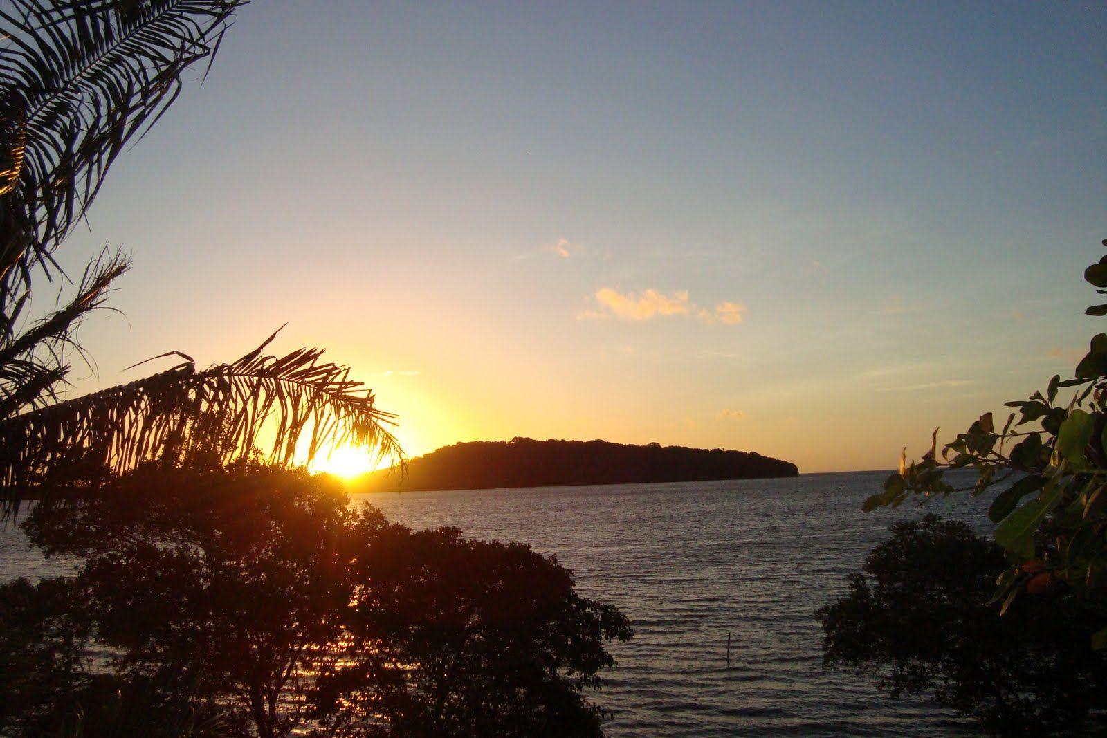 O amanhecer em Atapuz - PE