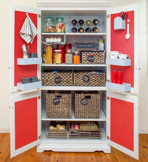 Kitchen Storage Solutions Diy: DIY Kitchen Storage Solution: Turn A Thrift Store Find