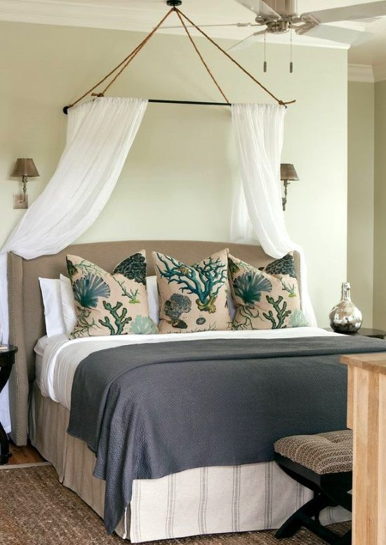 Awesome Above The Bed Beach Themed Decor Ideas Small Guest