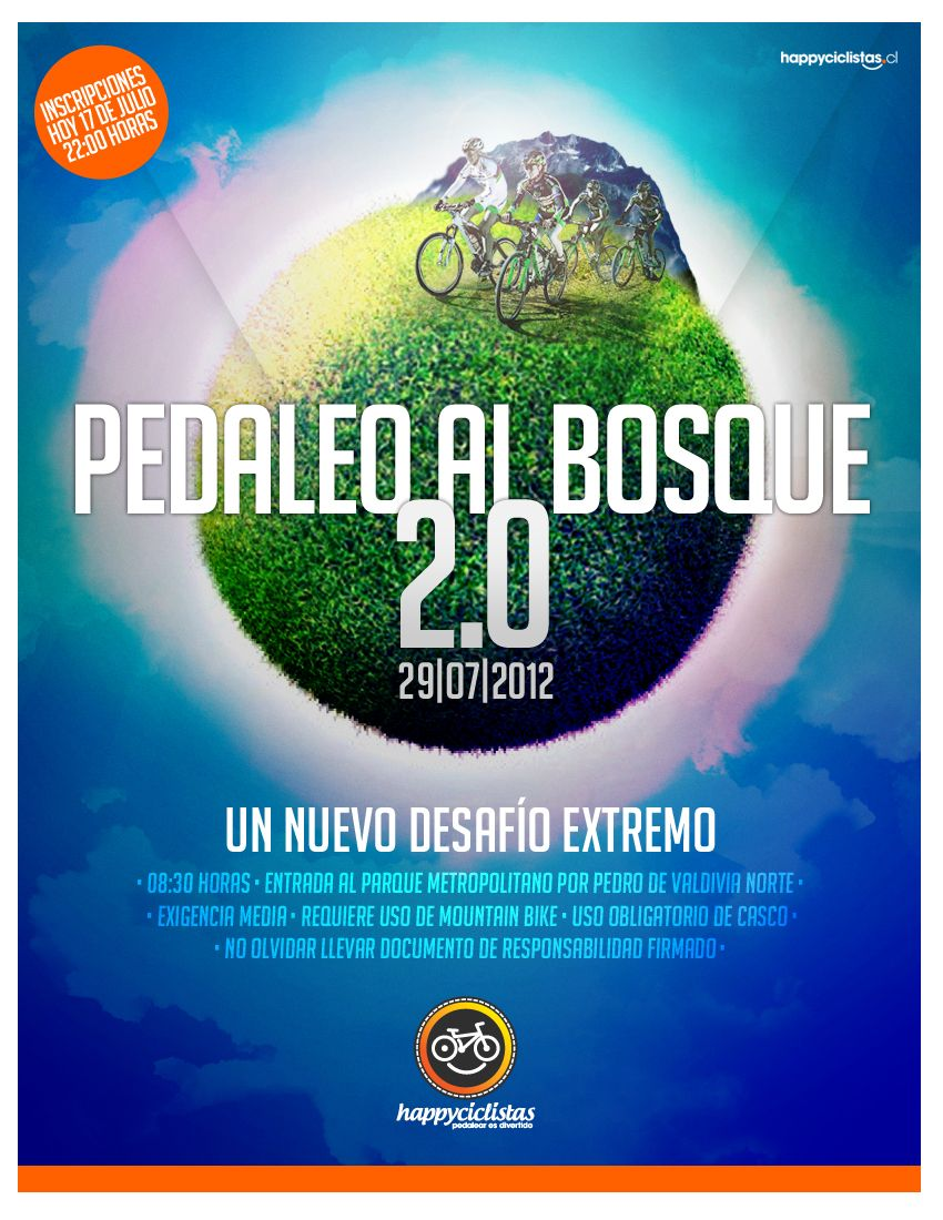 PEDALEO AL BOSQUE 2.0