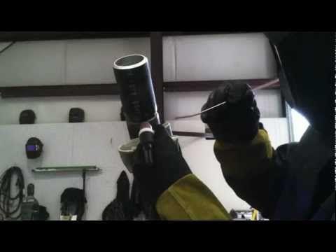 Tig Welding Certification Test - 6g pipe welding test Hot Pass | Job ...