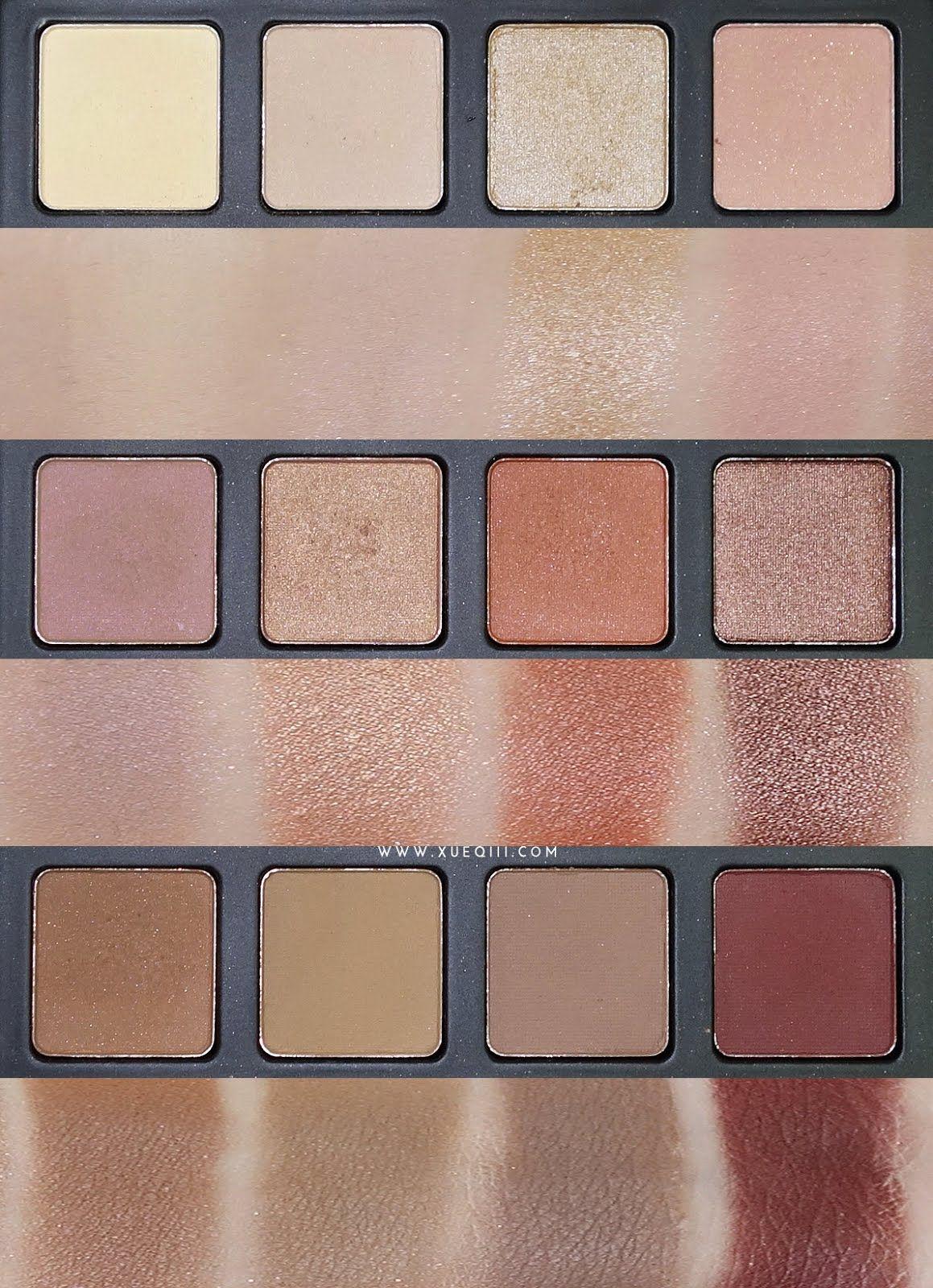 Morphe 35k eyeshadow palette review beauty in bold - Morphe Brushes 12nb Palette Review And Swatches
