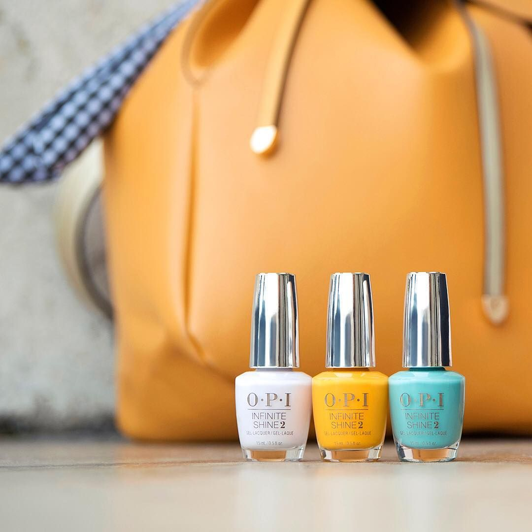 Opi On Instagram Don T Plan International Travel Without This Trio Suzichasesportugeese Sunseaandsandinmypa Best Nail Salon Opi Opi Spring Nail Polish