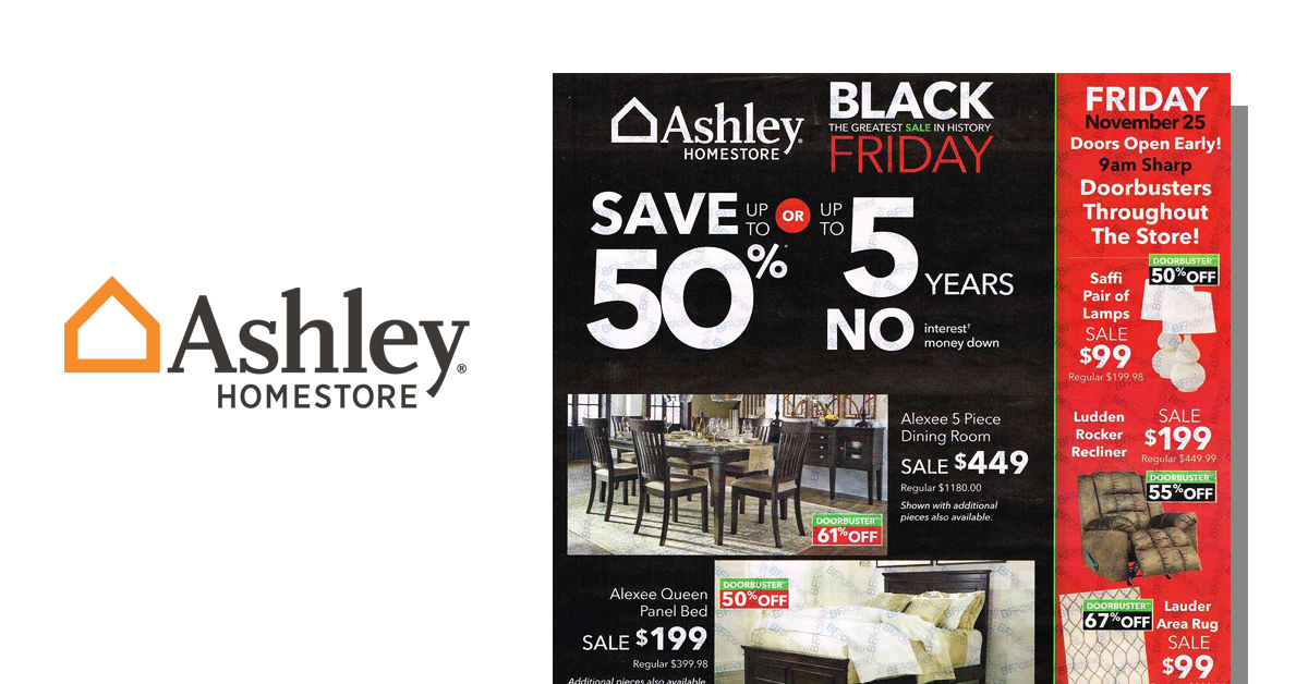 Ashley Furniture Black Friday 2016 Ad Posted