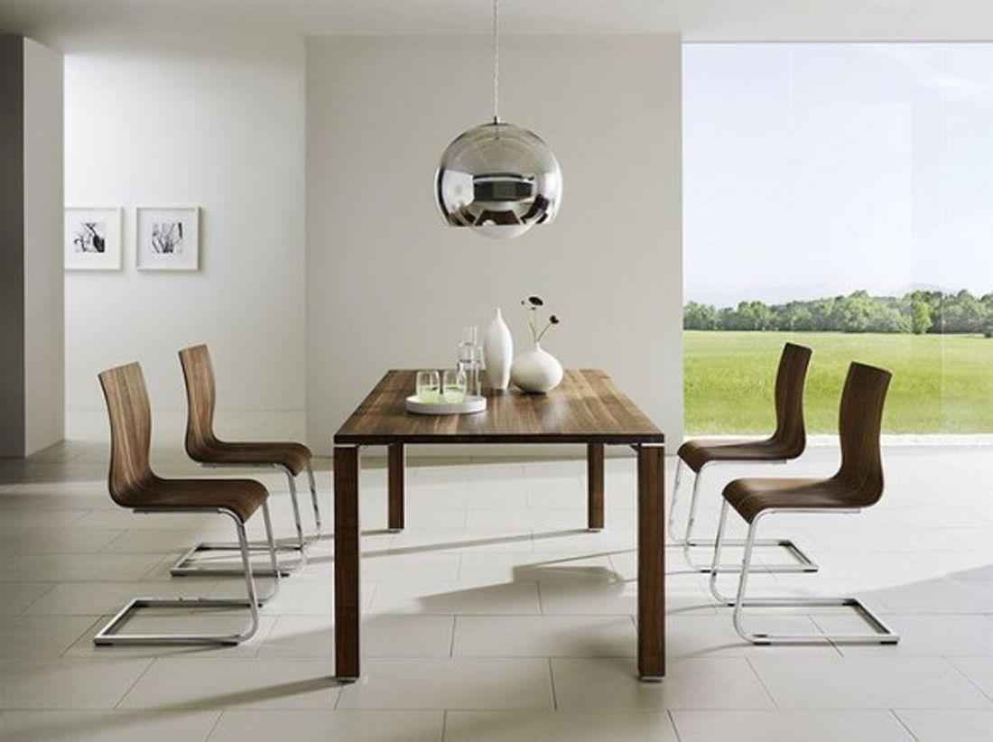 Modern Minimalist Dining Room Design Minimalist Dining Room