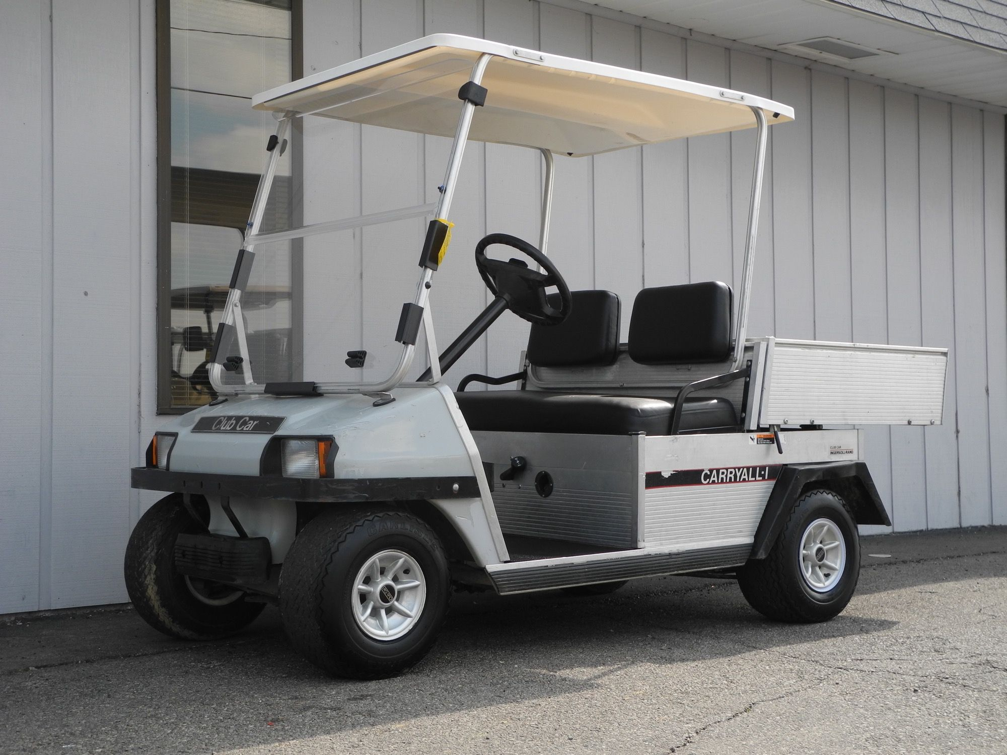 This 1999 Club Car Carryall 1 48volt electric golf car is