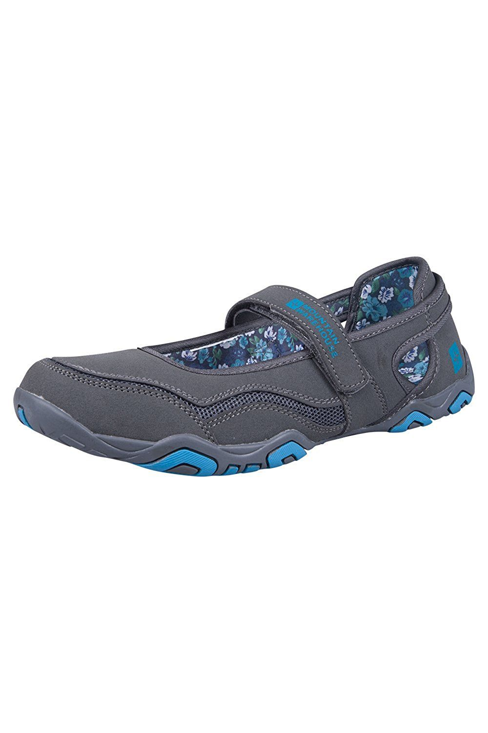 a1495653f41 Mountain Warehouse Magda Womens Walking Casual Travelling Flat Shoes ...
