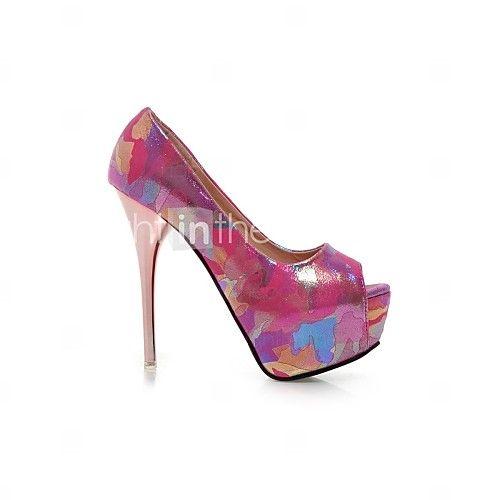 Women's Shoes Stiletto Heel Heels/Platform/Closed Toe