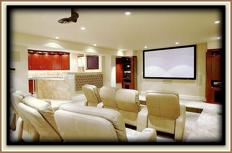 Dise os para una sala de cine en casa dise o de - Disenos interiores de casas ...