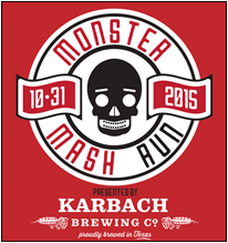 Monster Mash Run in Houston TX with Karbach Brewing Co on Halloween.