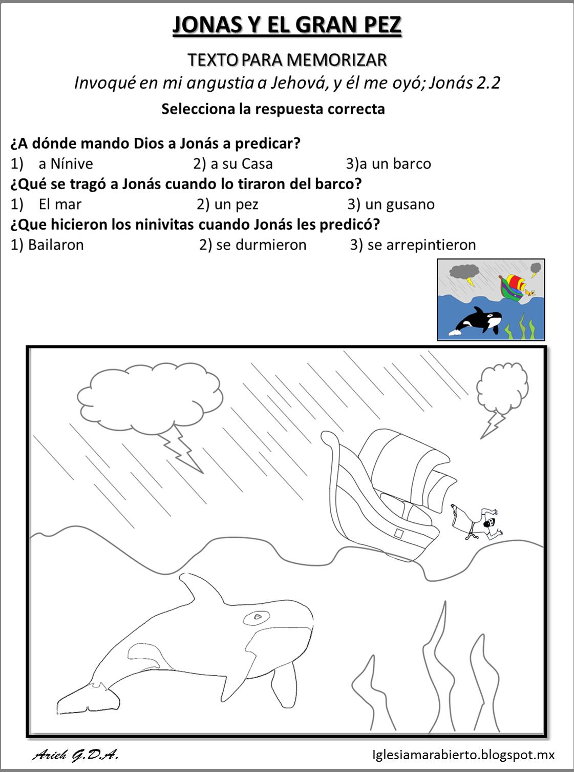 Vistoso Colorear Jonah Friso - Ideas Para Colorear ...