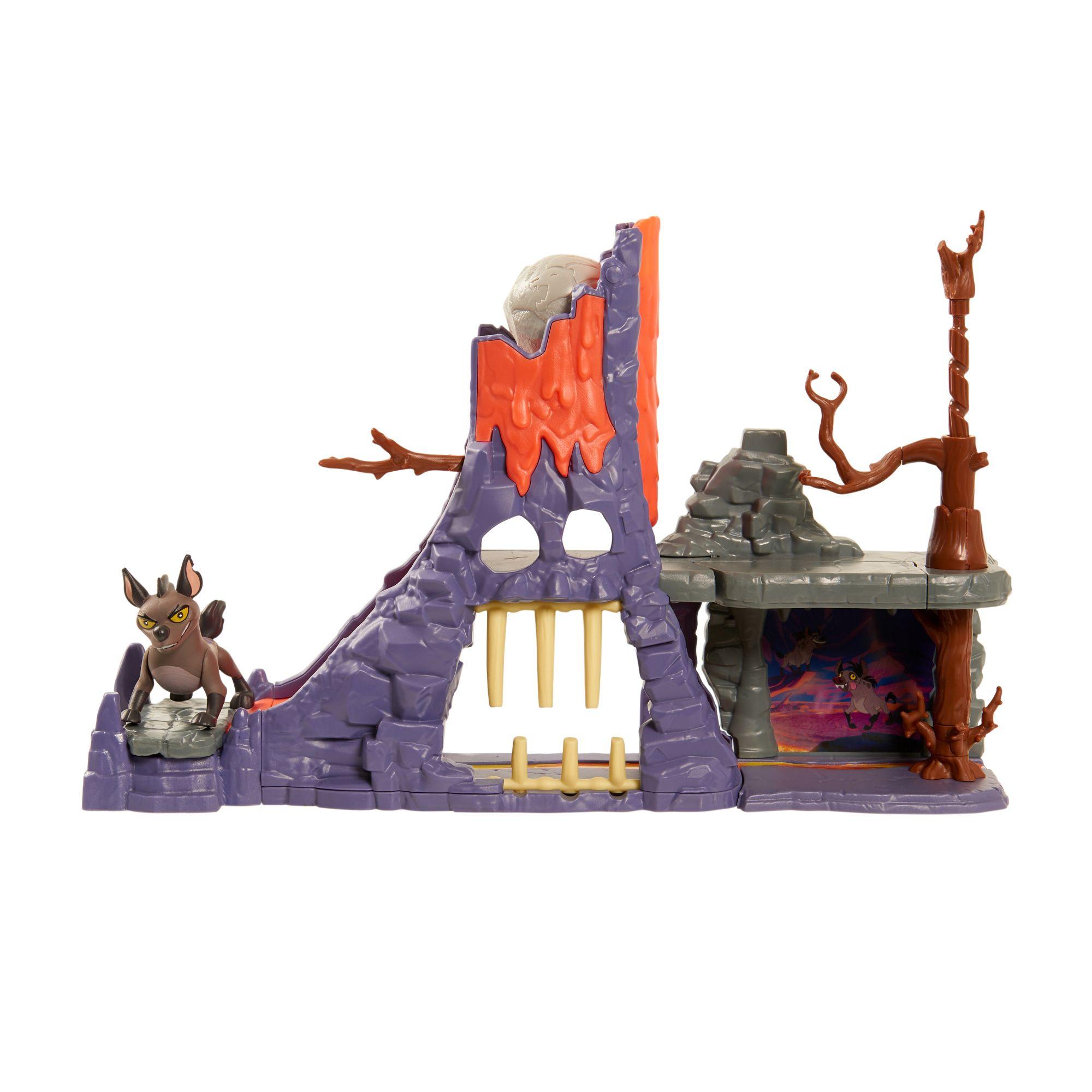 Disney Lion Guard Hyena Hideout Playset Lion King Toys Lion Guard Playset