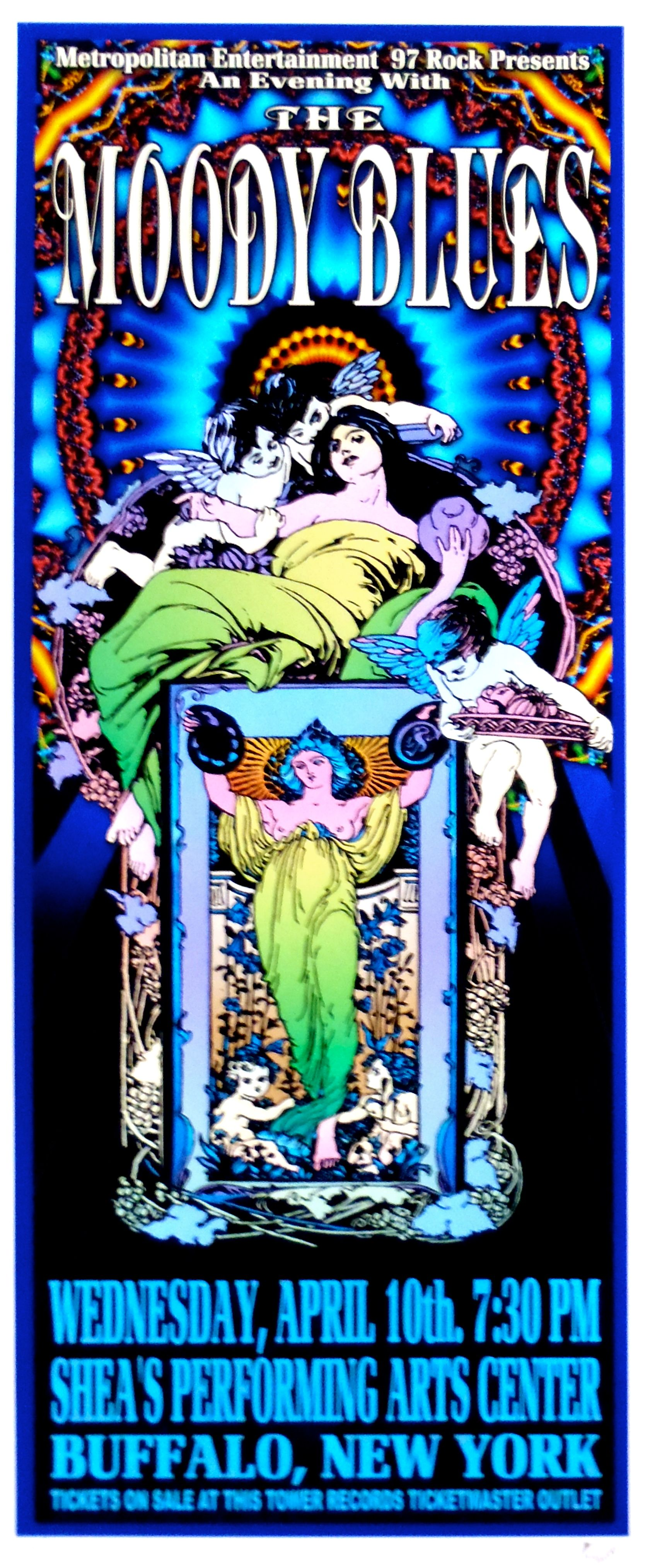moody blues Google Search Rock poster art, Concert