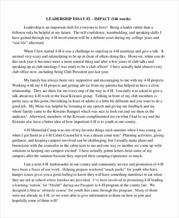 leadership essays example lovely research paper example