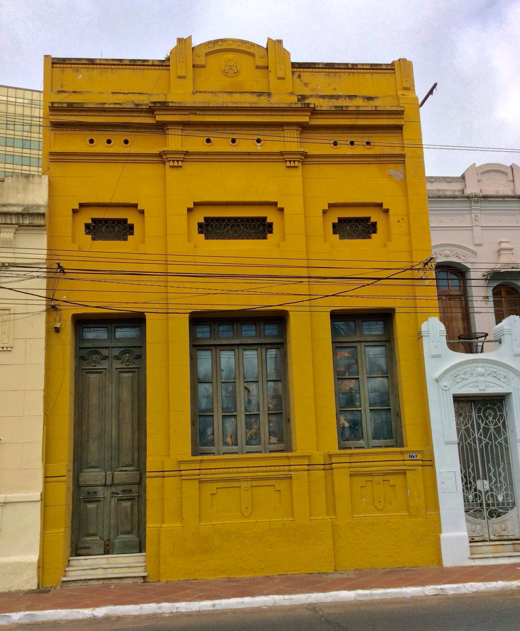 Casa antigua en asunci n paraguay asunci n del paraguay for Puerta casa antigua