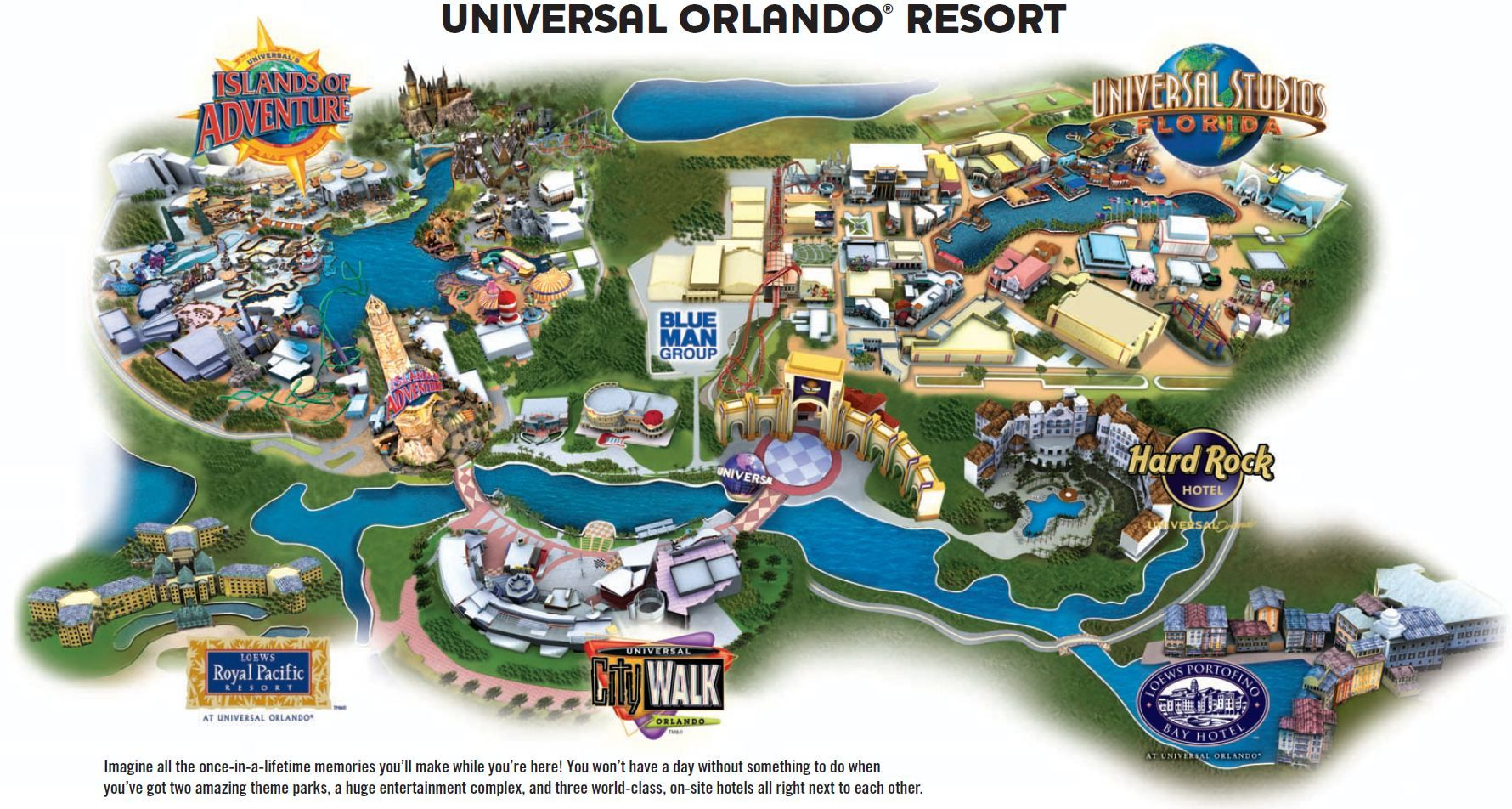 The First Park Universal Studios Opened In June 1990 And Had A Great Concept Of Visitors