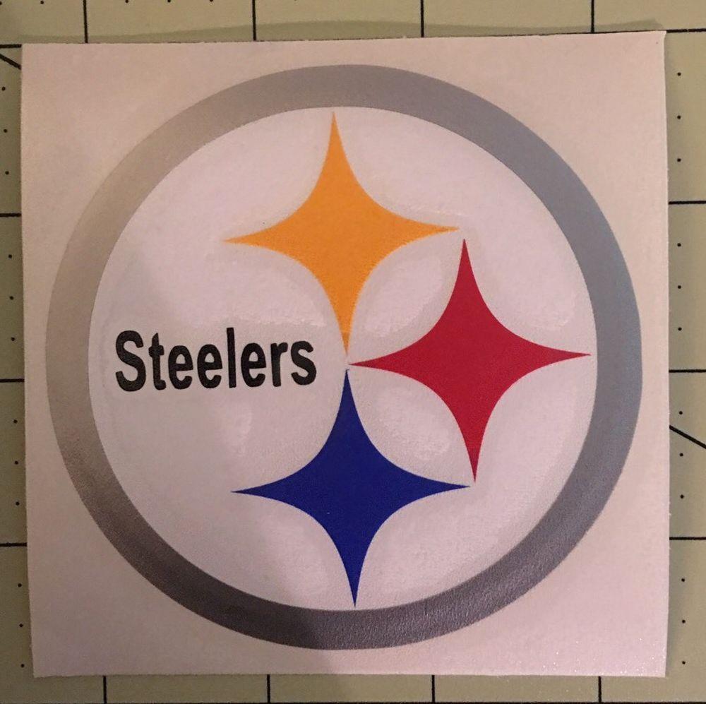 Pittsburgh Steelers Decal For Your Yeti Rambler Tumbler Rtic Ebay Yeti Rambler Tumblers Tumbler Decal Rambler Tumbler [ 997 x 1000 Pixel ]