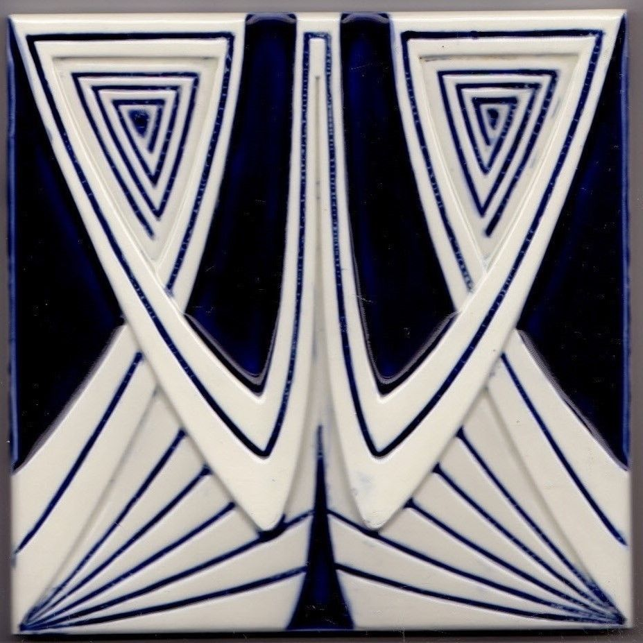 Kachel fliese  RAR! Jugendstil Fliese Kachel Art Nouveau Tile BOIZENBURG | Tile ...