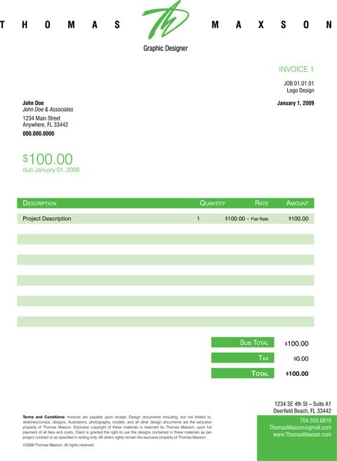 Invoice Like A Pro Design Examples and Best Practices Invoice - sample freelance invoice
