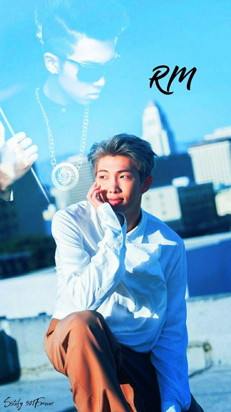 Pin By Kim Seok Jin On Bts Bts Rap Monster Kim Namjoon Foto Bts Bts wallpaper kim namjoon