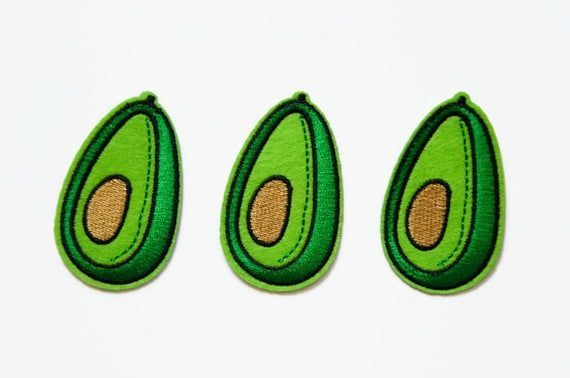 Terrific Totally Free Embroidery Patches avocado Thoughts The very best in addition to most common