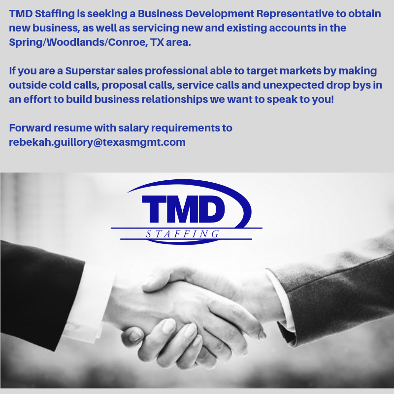 Business Development Position Available In Houston Tx