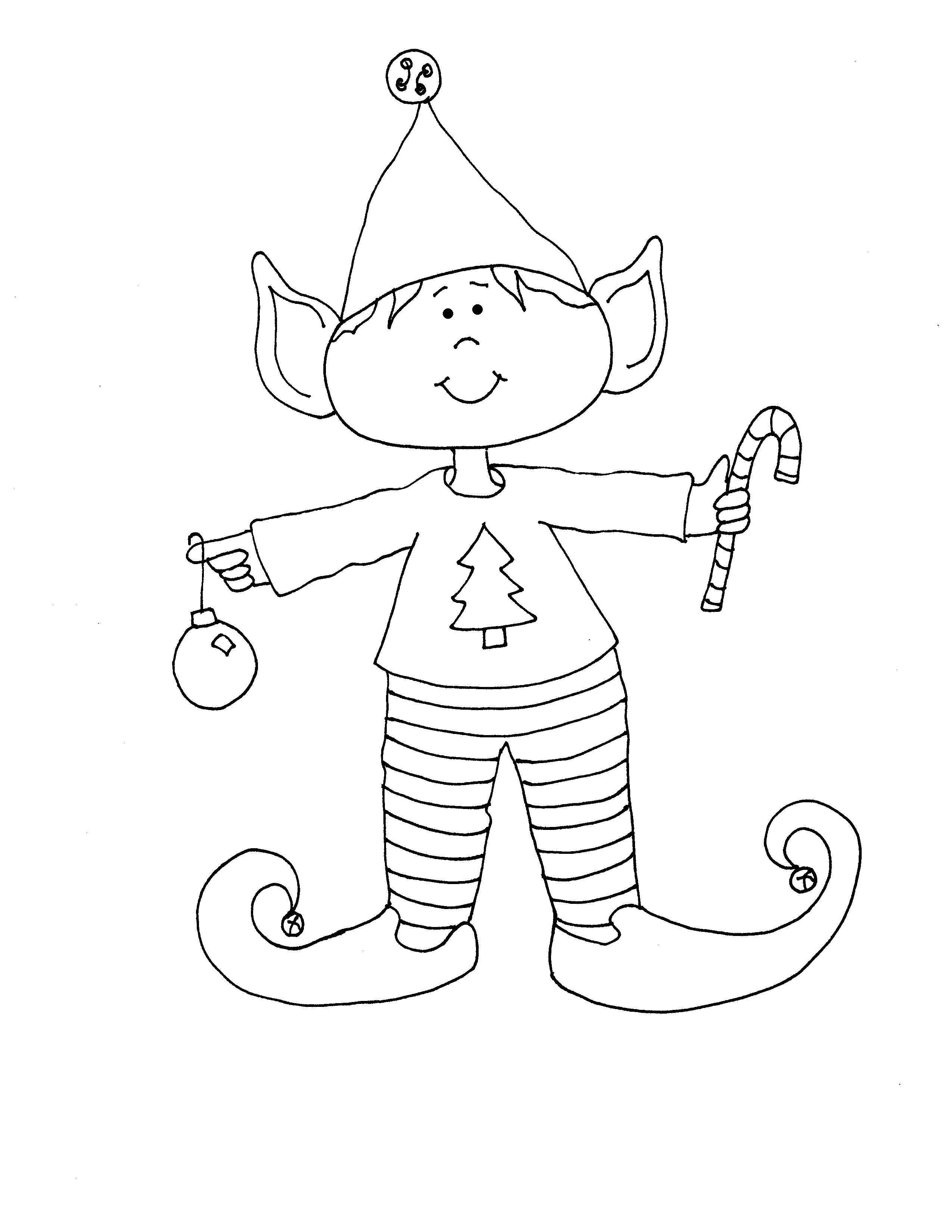 Duende | Dibujos para coser o pintar | Pinterest | Navidad, Bordado ...