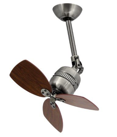 Vaxcel Toledo Innovative Wall Mounted Ceiling Mounted Fan Casing Colour Antique Tin Blade Colour Walnut Ceiling Fan Wall Mounted Fan Wall Fans