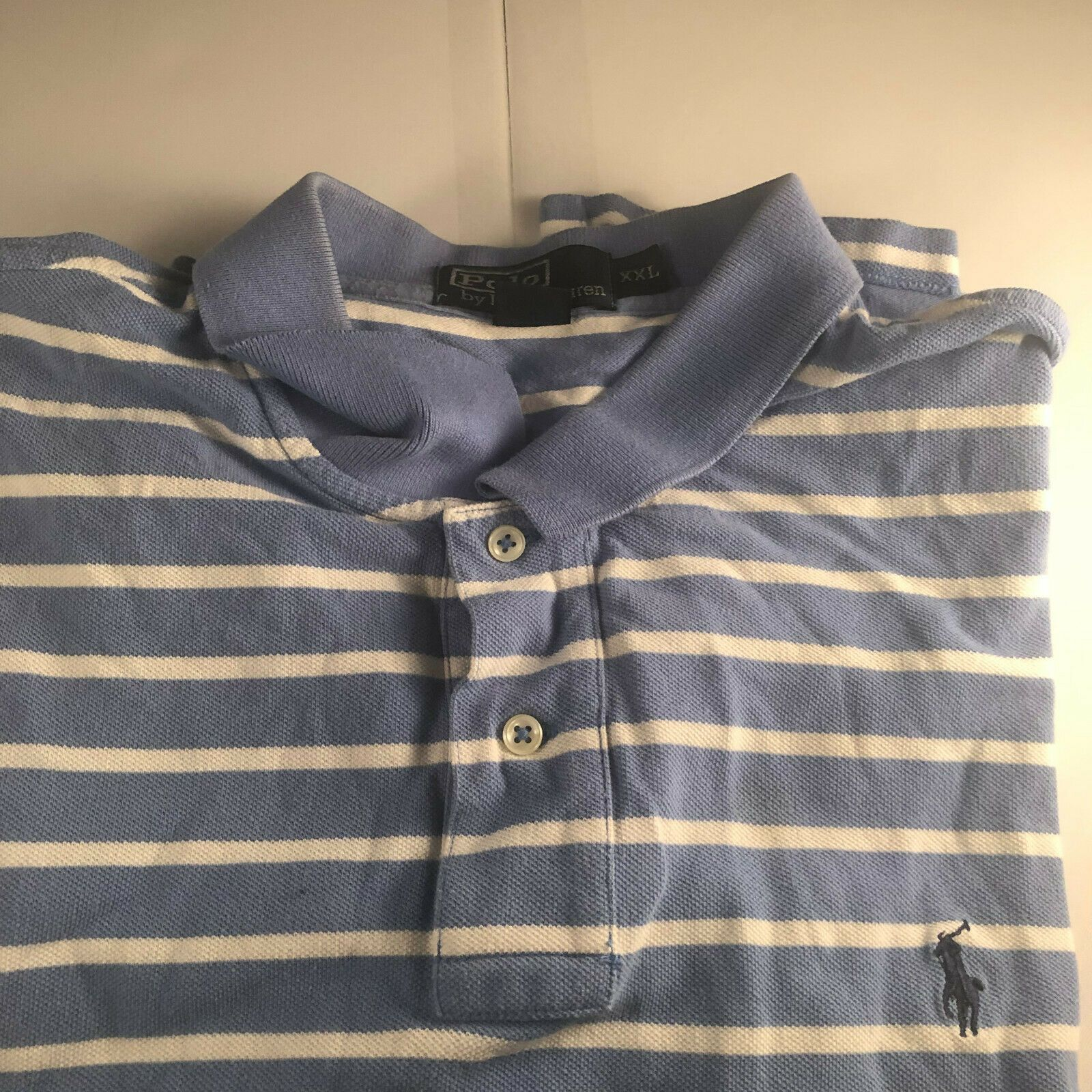 Light Blue And White Rugby Shirt Dreamworks