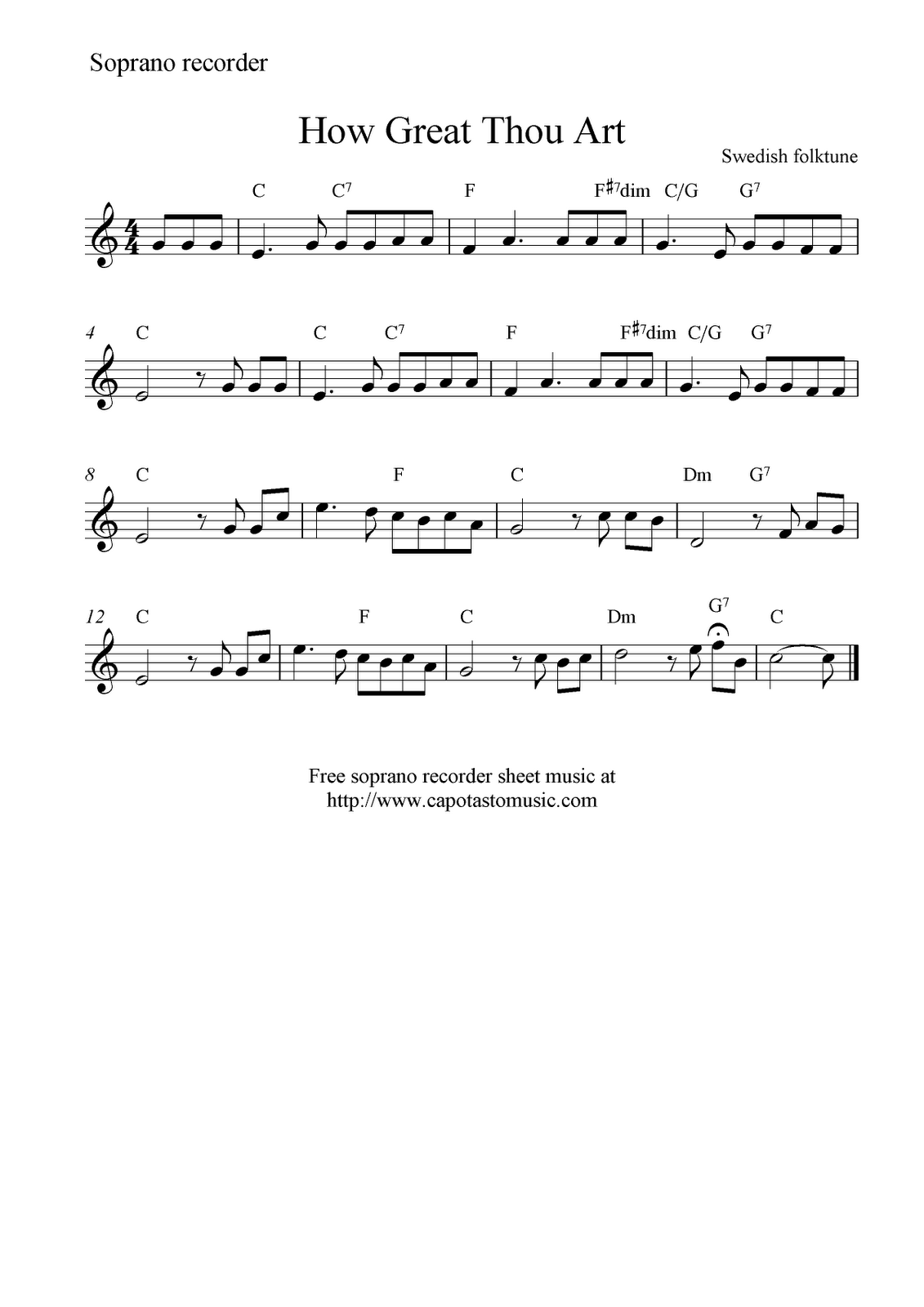 how to read music notes for beginners recorder