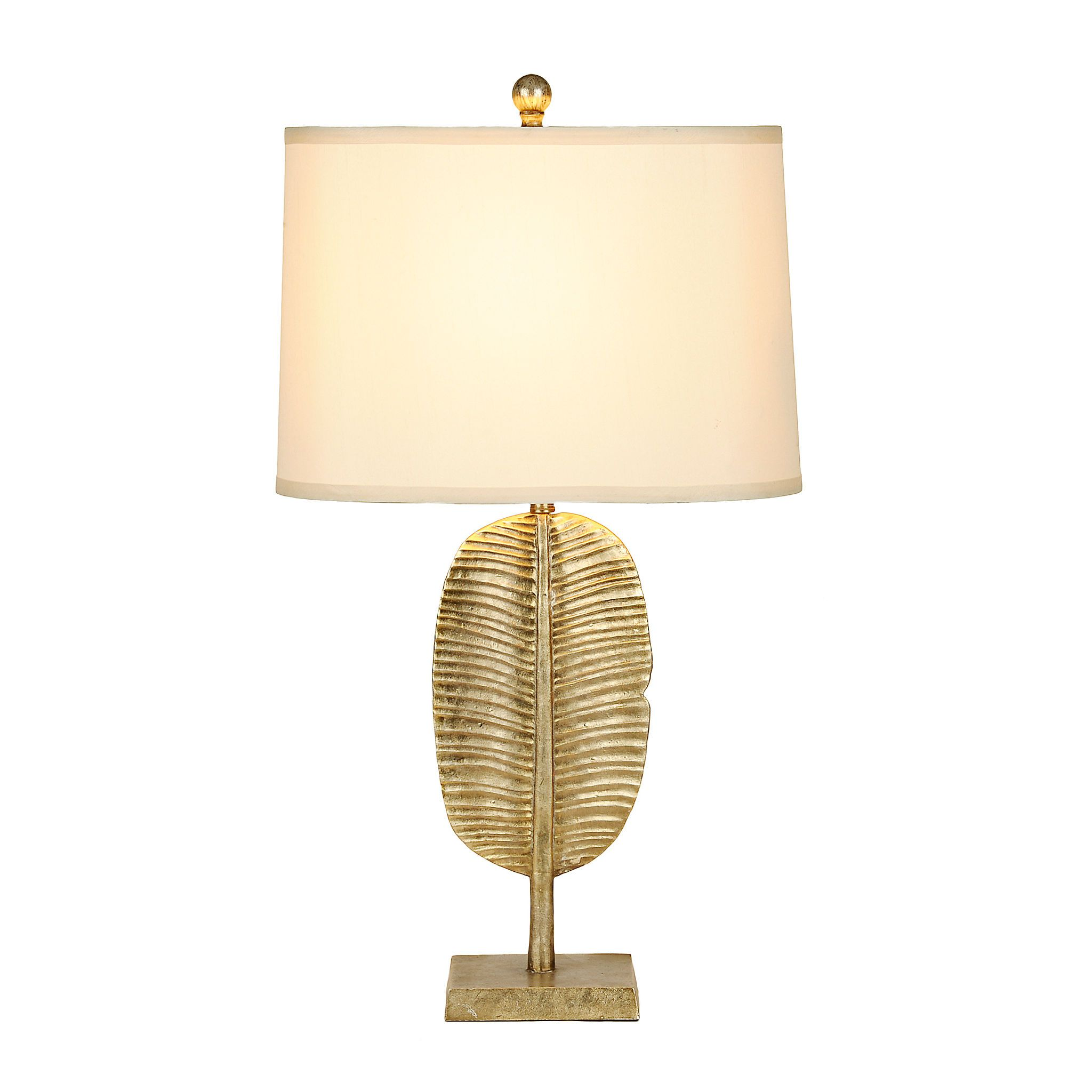 Gold palm leaf table lamp leaf table palm and leaves gold palm leaf table lamp aloadofball Choice Image