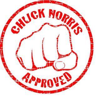99cf15e5795392440d28cdbf1c99203c chuck norris approved stamp chuck norris pinterest chuck
