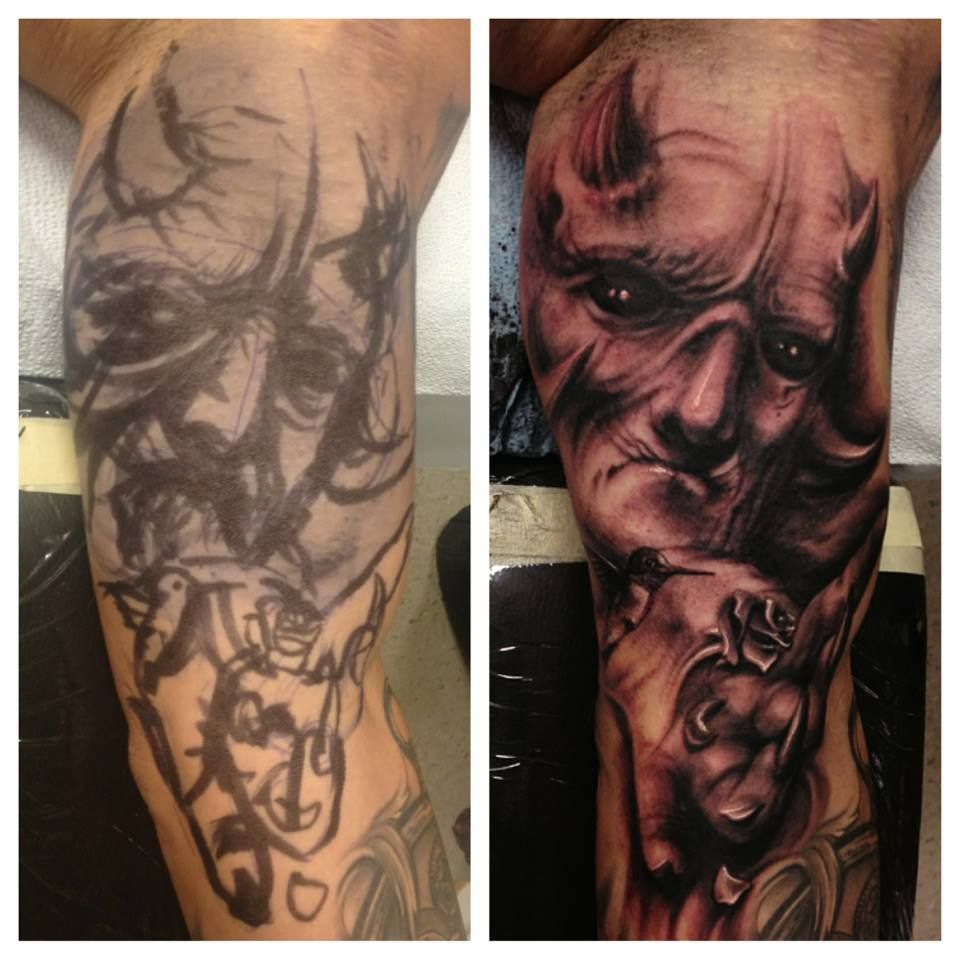 Carl grace tattoo grace tattoos tattoos portrait tattoo