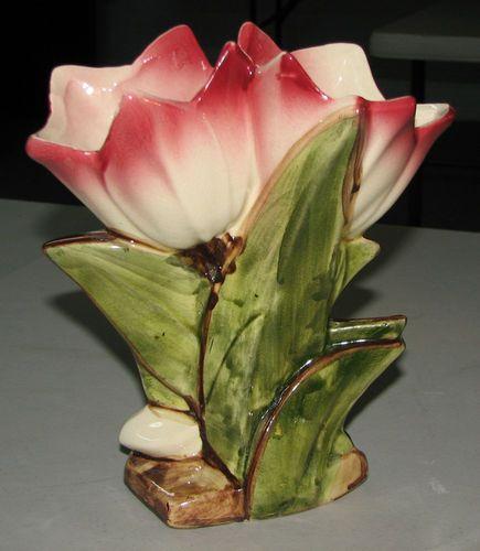 Mccoy Double Tulip Vase My Kitchen Pinterest Mccoy Pottery