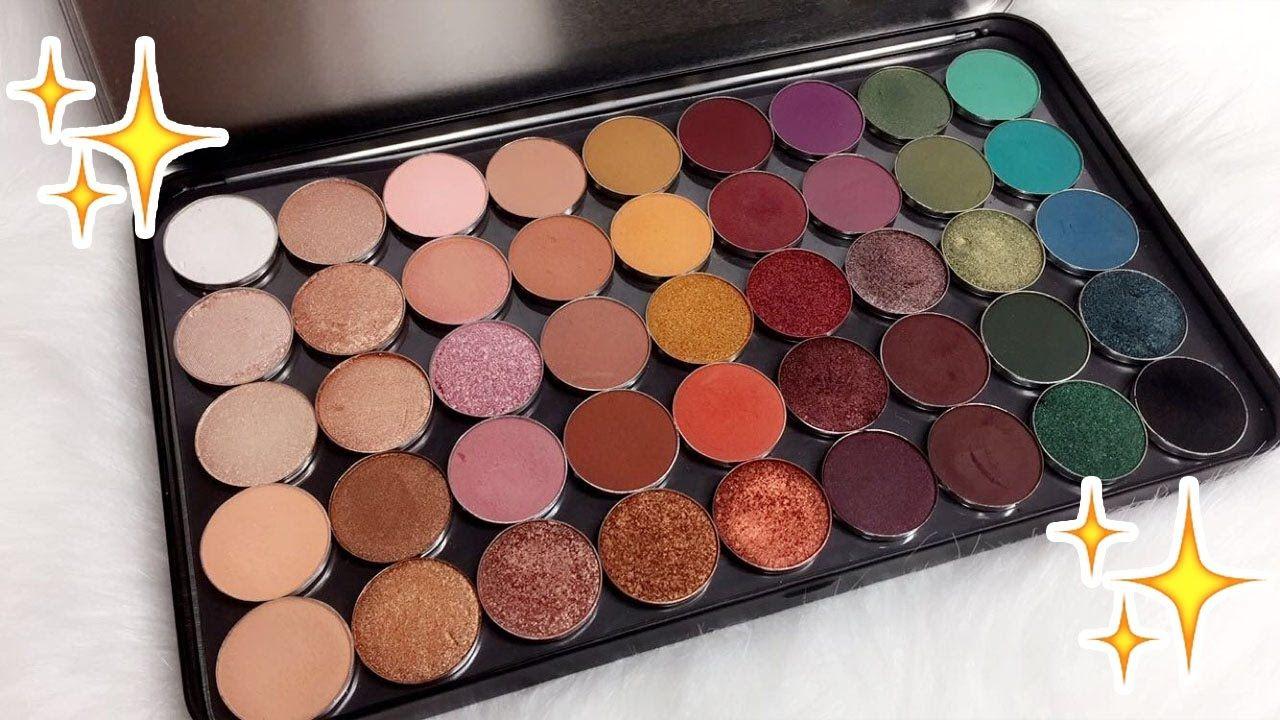 Custom Eyeshadow Palette Daisy Marquez YouTube (With