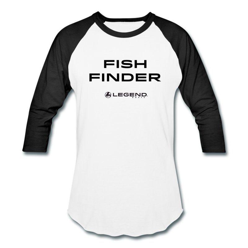 FISH FINDER RINGER T Men's Baseball T-Shirt | Legend Boats