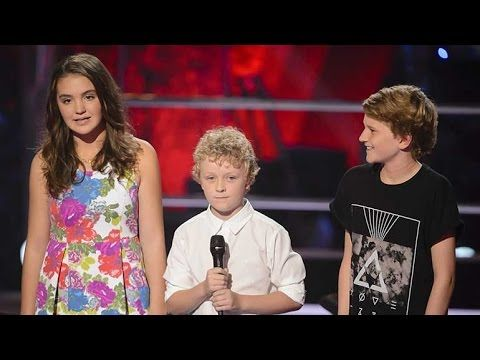 Martha, Reilly and Fletcher Sing Let Her Go   The Voice Kids