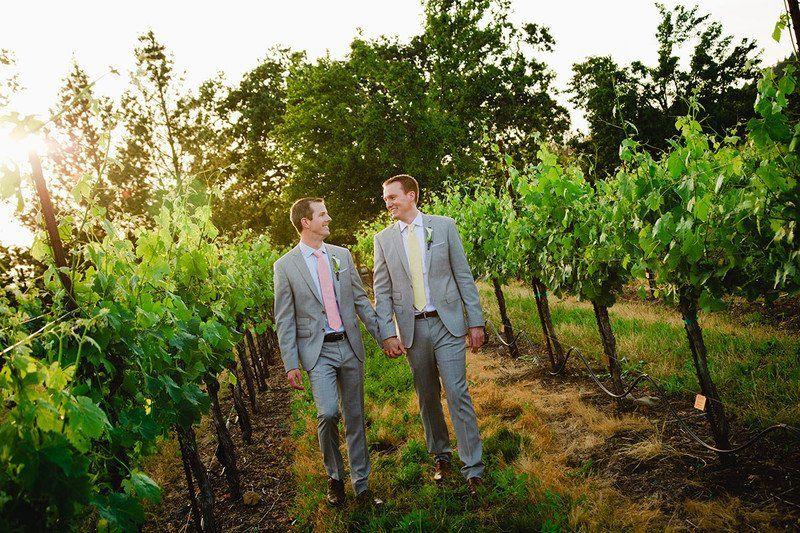 Fabulous spring vineyard wedding inspo {Marc Blondin