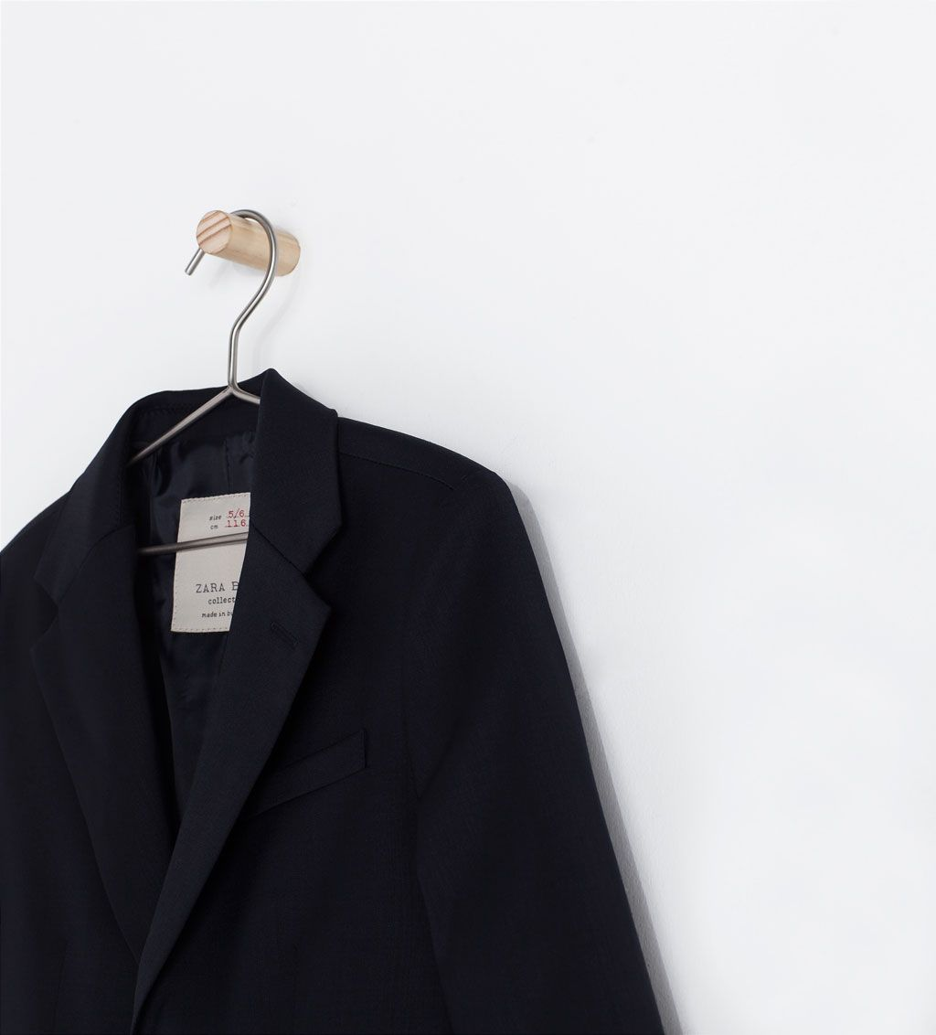 TWO - BUTTON SUIT JACKET - Coats - Boy (3 - 14 years) - KIDS | ZARA United States