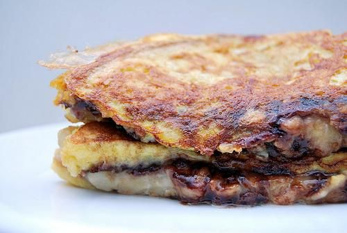 Recipe: Peanut Butter, Banana, and Nutella French Toast