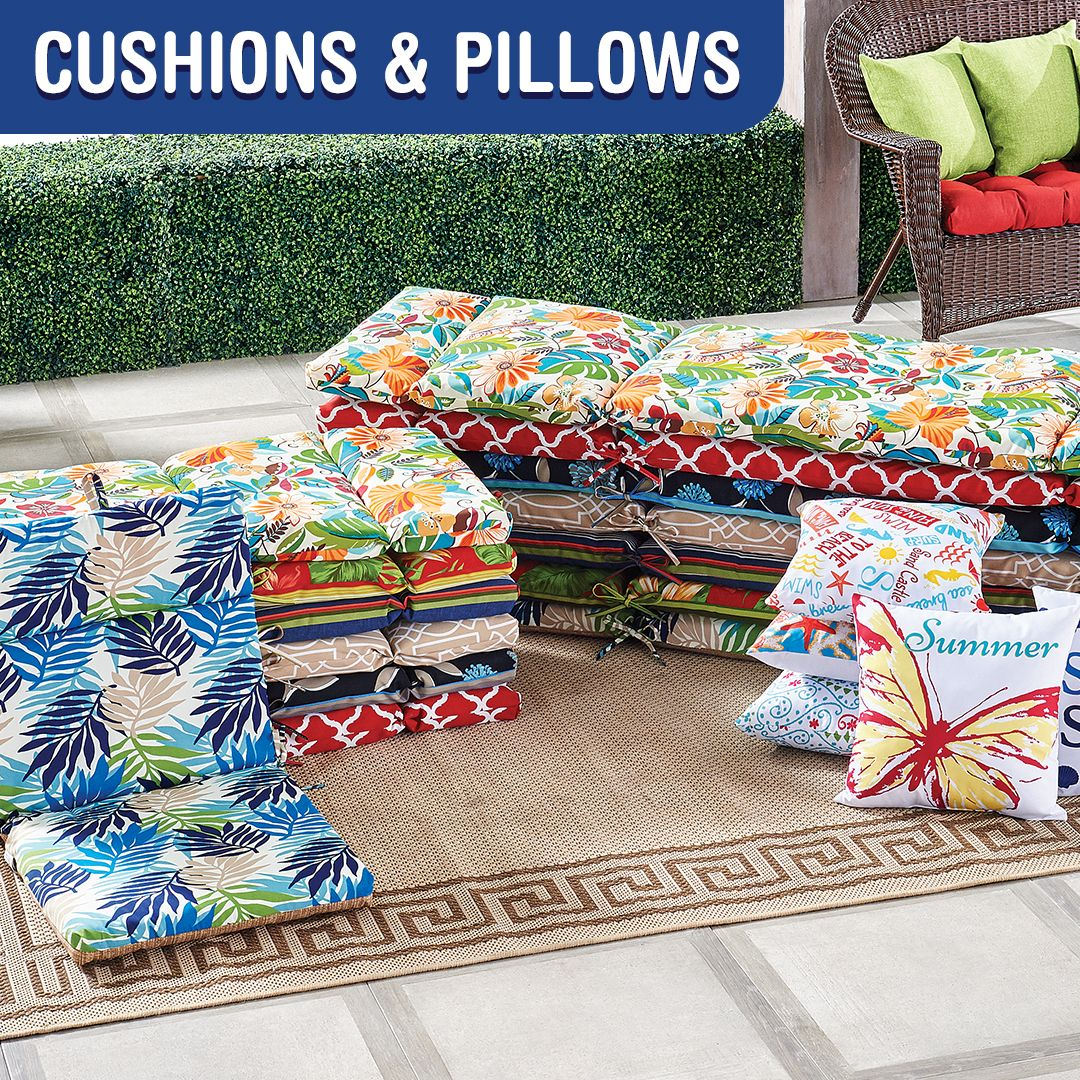 cushions planters patio sets outdoor
