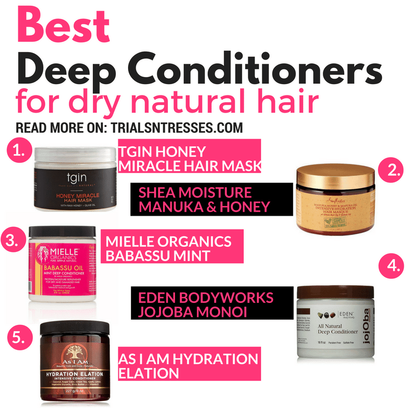 Best Deep Conditioners For Dry Natural Hair Curly head