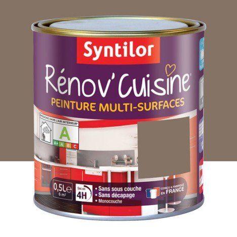 Peinture Rénov Cuisine Syntilor Brun Chocolait 0 5 L