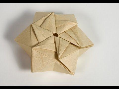 sterne basteln eine stern geschenkbox falten how to make a star gift box youtube. Black Bedroom Furniture Sets. Home Design Ideas