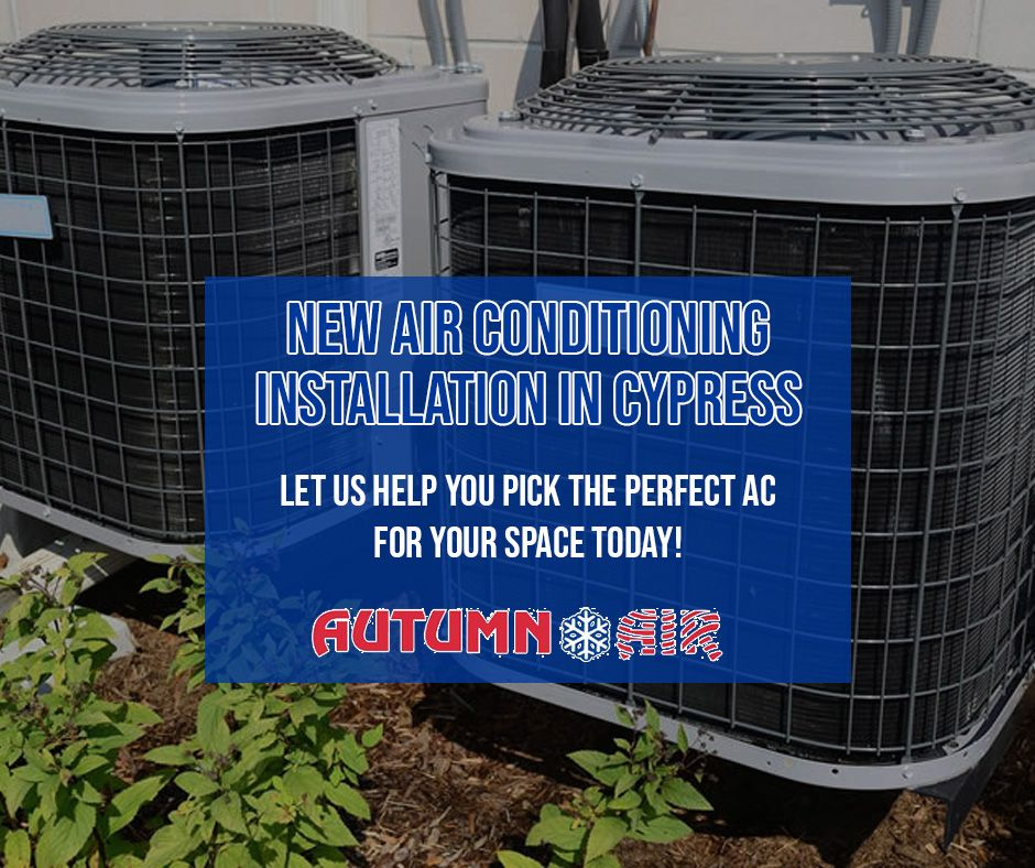 Air Conditioning Services in Cypress TX