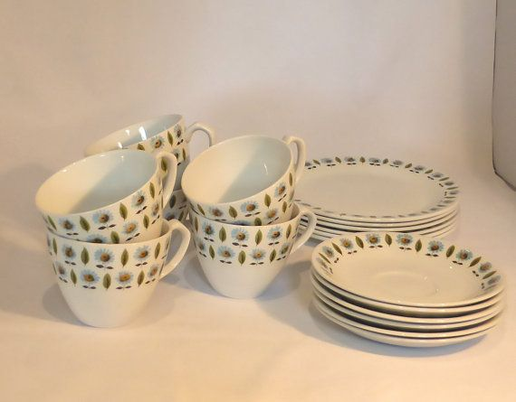 Alfred Meakin Tea Set Modern Design 18 Pieces